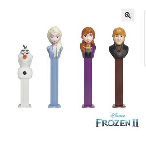 Disney Frozen ll Pez Collection and Tin | New